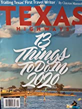 Texas highways magazine January 2020 13 things to do in 2020