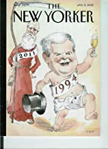 """The New Yorker Volume LXXXVII No. 42, January 2, 2012 (Cover) """"Déjà Vu All Over Again"""", Roger Angell on the End of Mail: Ariel Levy Letter From Bangalore"""