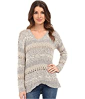 Lucky Brand - Mixed Stitch Tunic