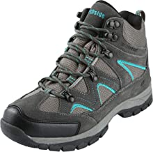 Northside Women's Snohomish Hiking Boot, Dk Gray/Dk Turquoise, 9 M US