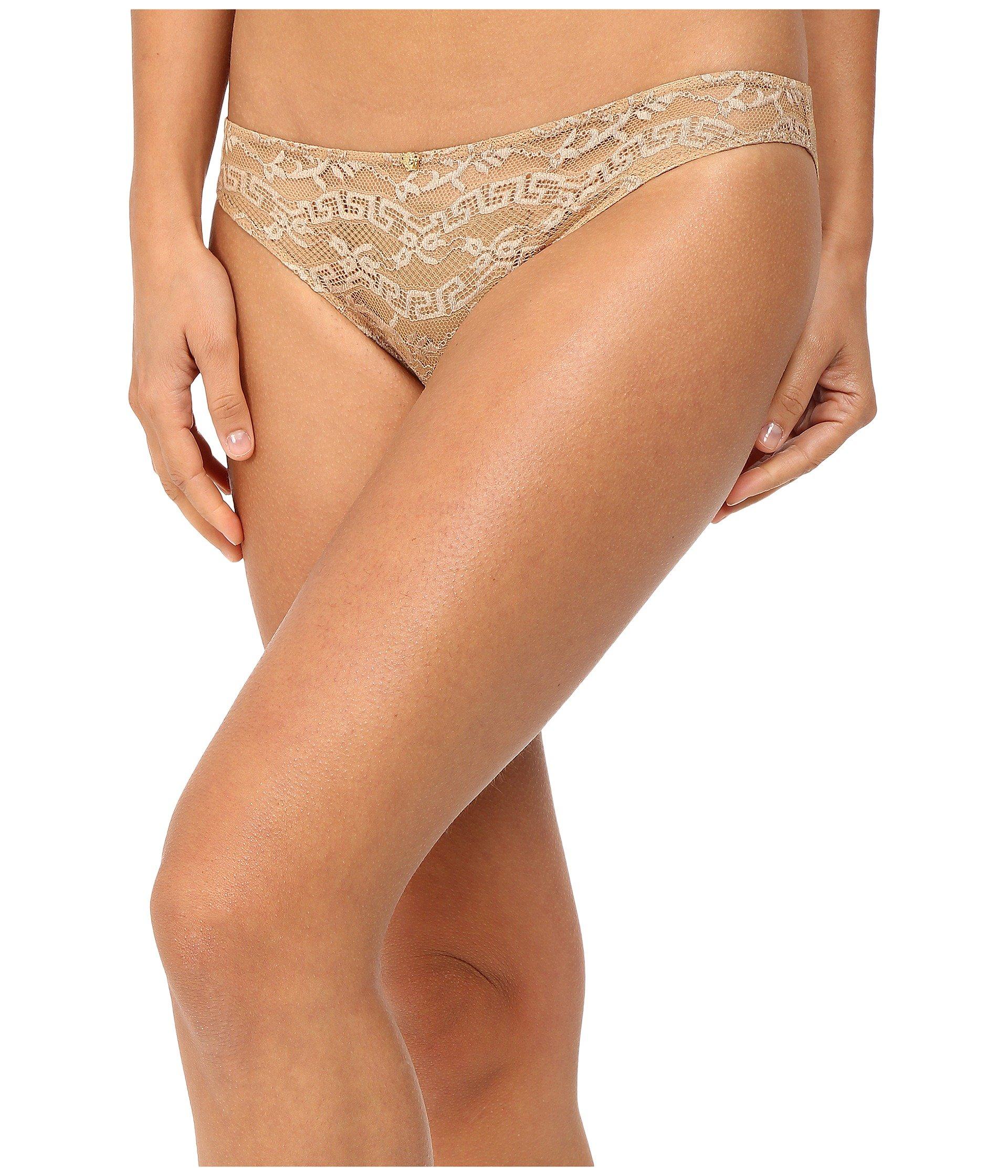 Panti Versace Lace Slip-On Panty  + Versace en VeoyCompro.net