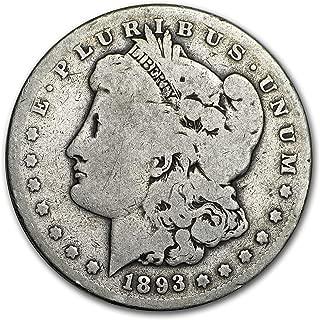 1893 S Morgan Dollar Good $1 Good