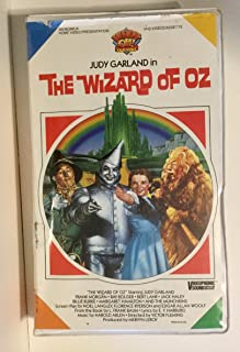 The Wizard of OZ, VHS