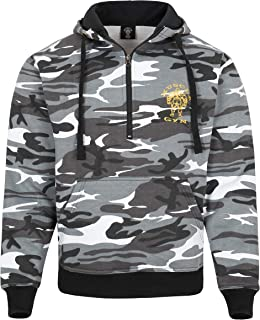 Muscle Works Gym Unisex Camouflage Hoody Gym wear Fitness Top Bodybuilding