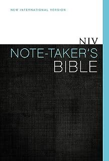 NIV, Note-Taker's Bible, Hardcover