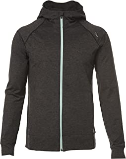 SODO 425 Full Zip Performance Hoodie-Heather Black/Black Sleeves