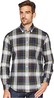 Ralph Lauren Polo Men's Classic Fit Plaid Cotton Oxford Shirt