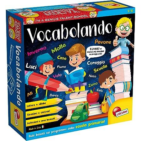 Lisciani Giochi- Vocabolando Piccolo Genio Giochi Educativi, Multicolore, 48878