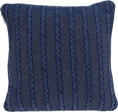 Amazon.com: Saro Lifestyle – Ovillo de lana Cable Knit ...