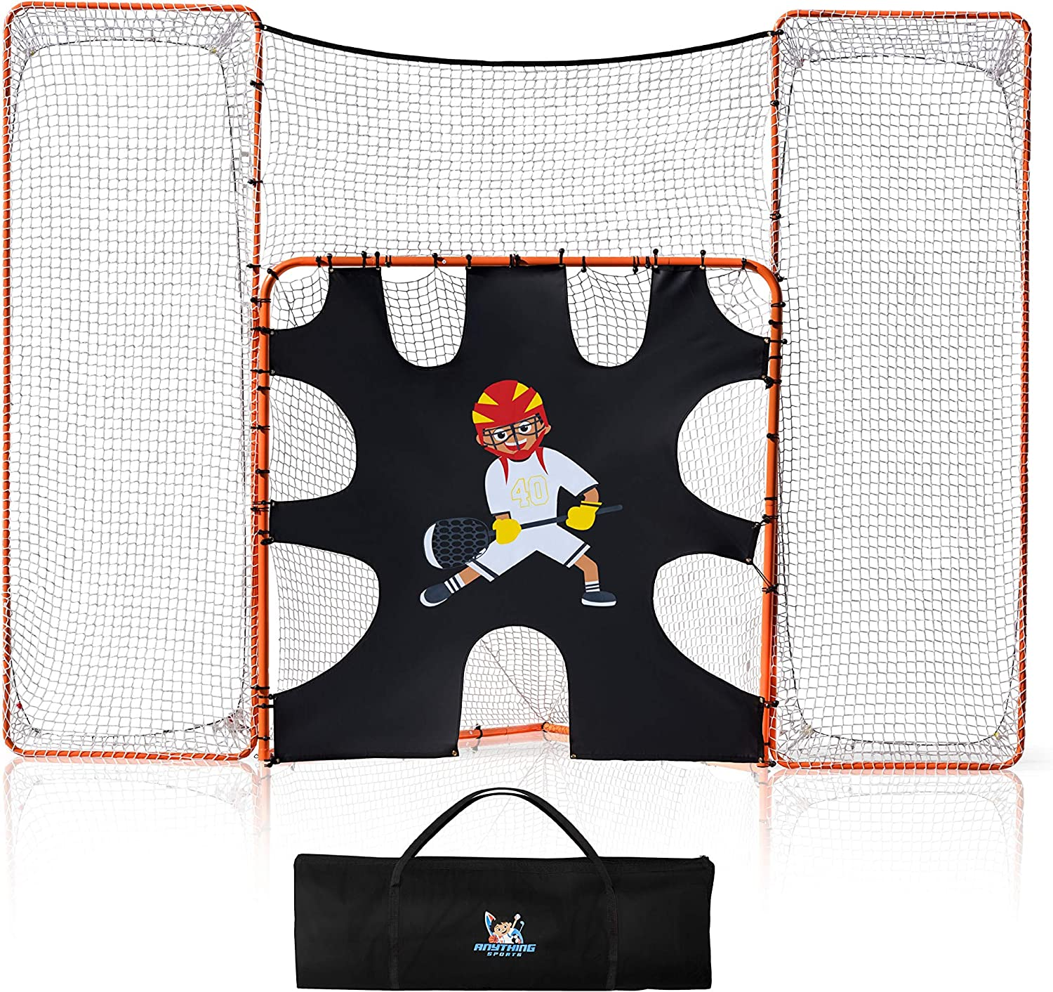 Lacrosse Popular products Scoop 3 in Excellence 1 with Goal Target Backstop and
