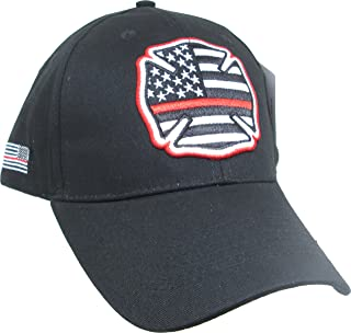 67f0c5e6d0333 Eagle Crest Fire Department Thin Red Line Baseball Cap