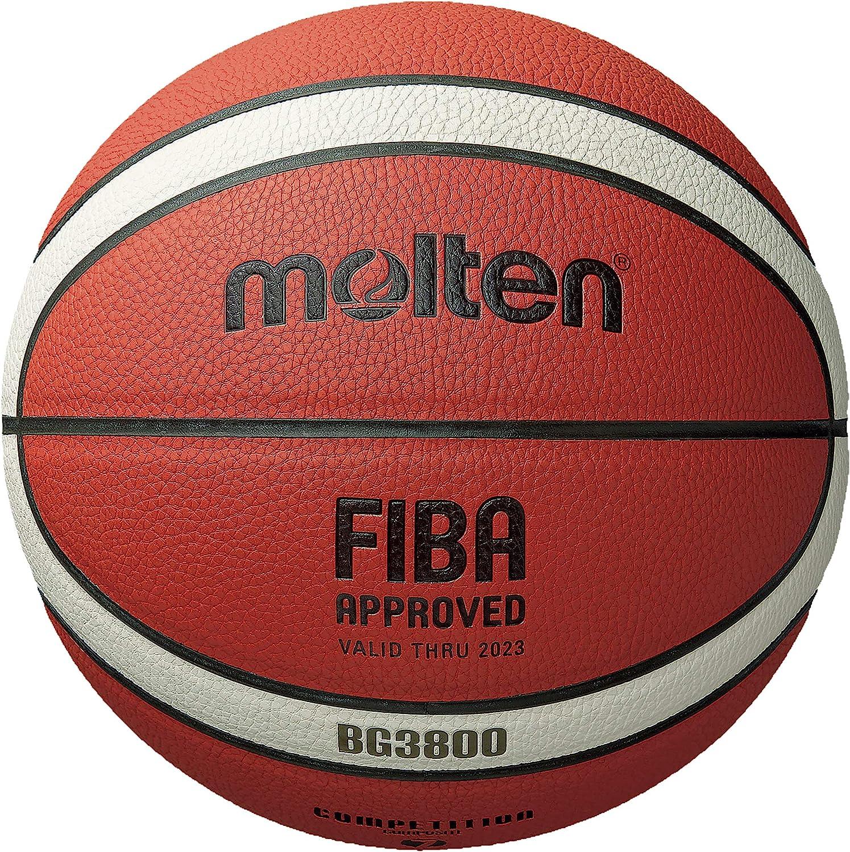 Molten BG3800 Memphis Mall Series Indoor Outdoor Basketball Approved FIBA Factory outlet