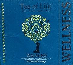 Wellness Tea! Choose From Slimming, Detox, De-Stress, Or Calming! 50 Round Tea Bags Per Box! The New Age Tea! (Calming)