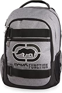Ecko Unltd. Boys' Sk8 Laptop & Tablet Backpack-School Bag Fits Up to 15 Inch Laptop, Heather/Black, One Size