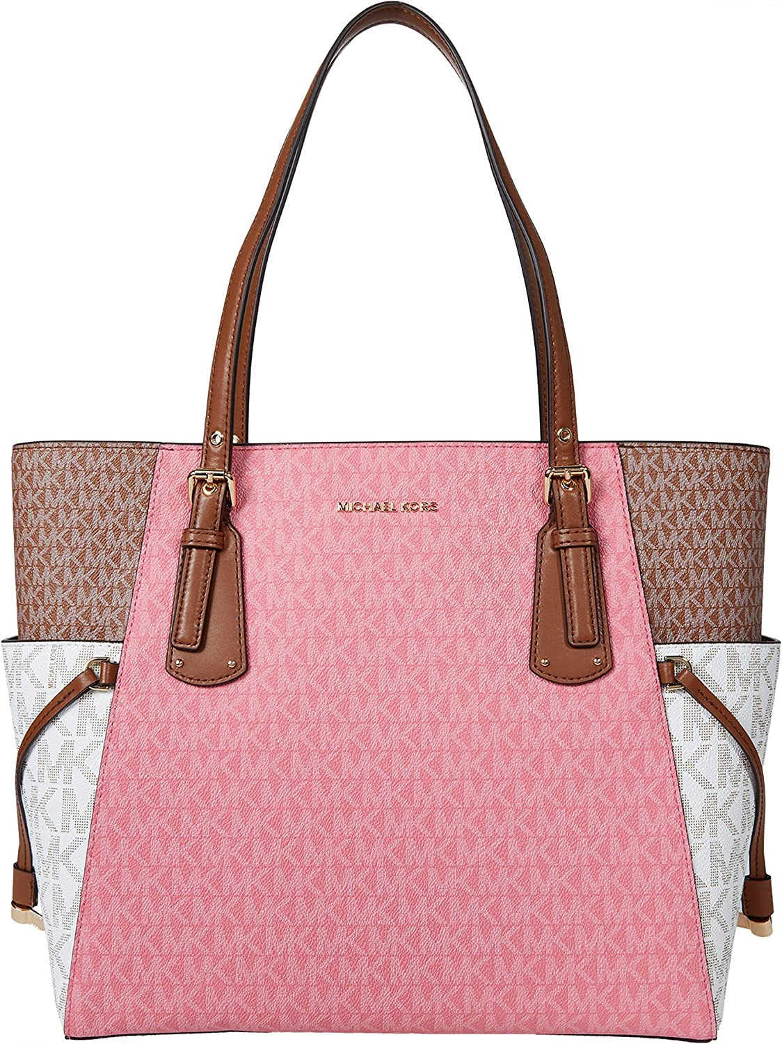 Michael Kors Voyager East/West Tote Tea Rose Multi One Size