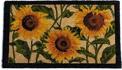 DII Sunflower Trio Fall Harvest Doormat