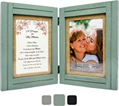 Best Gifts for Mom from Daughter or Son   A Prayer for My Mother - 5 x 7 Picture Frames   Wood Wall Art or Table Decor   Birthday, Mothers Day, Mother of the Bride or Groom, Christmas, Valentines Day