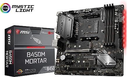 MSI B450M MORTAR AMD B450M Micro-ATX マザーボード