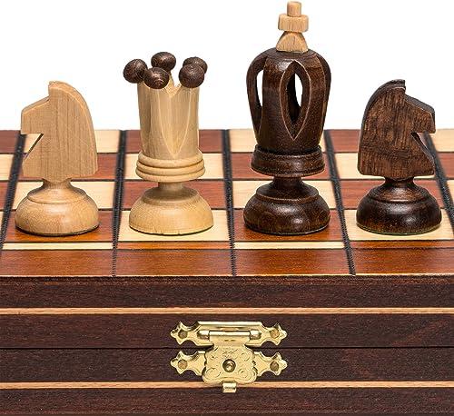 barato y de alta calidad Mini Royal European Wood International Chess Set - 12-1 4'' 4'' 4'' x 12-1 4'' by Wegiel  ordenar ahora