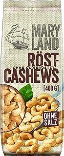 Maryland Röst-Cashews Snack Cashewkerne geröstet ungesalzen vegan, 400g
