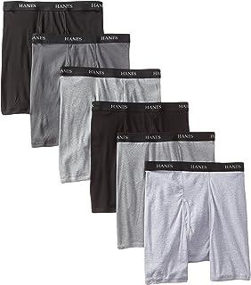 Hanes Ultimate Men's 6 Classics Boxer Brief Bonus Pack