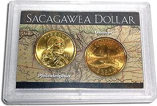 2000 P & D Sacagawea Golden Dollar Map Case $1 Mint State