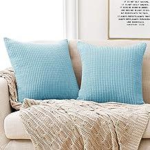 Amazon Co Uk Blue Throw Pillow