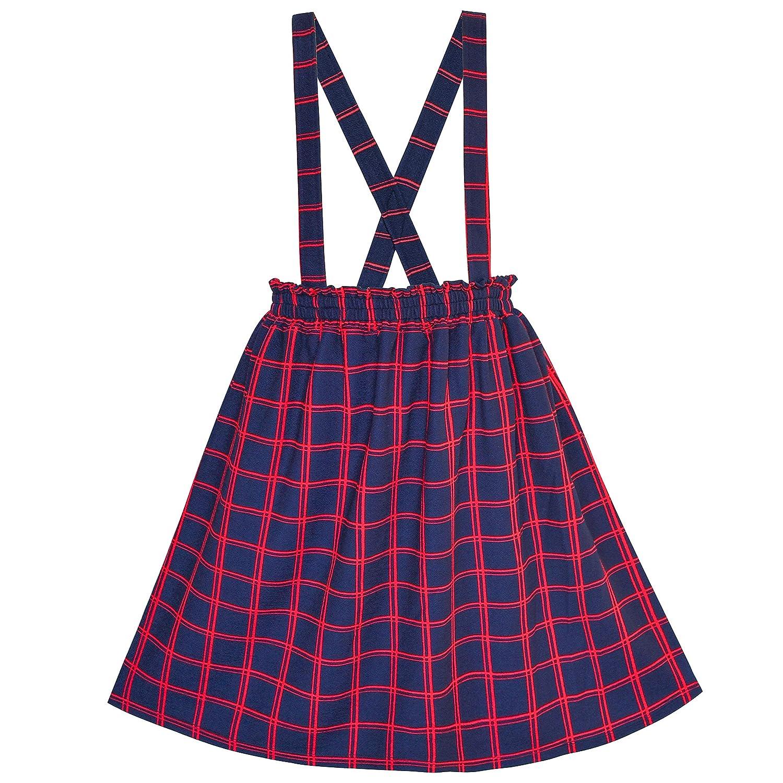 こどもドレス フォーマルドレス 入学式 2 ピース セット Tシャツ サスペンダー スカート 105/110/115/125/130/140/150cm