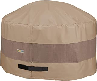 Duck Covers Elegant Round Fire Pit Cover, 36-Inch