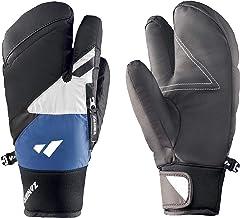 Zanier Unisex – volwassenen 40078-2010-9,5 handschoenen, zwart, wit, 9,5