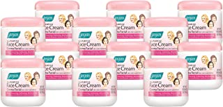 Jergens All Purpose Face Cream, Deep Cleansing Facial Cream, Makes Skin Smooth and Vibrant, 6 Ounce (Pack of 12)