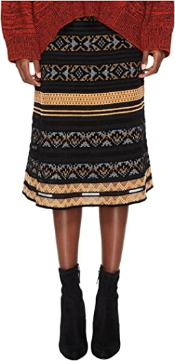 Chenille Ribbon Knit Skirt