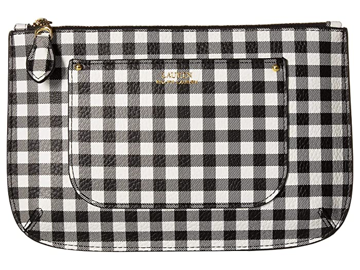 LAUREN Ralph Lauren Belt Bag (Black Gingham) Women