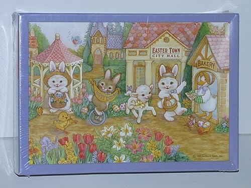 100% autentico Springbok Easter Easter Easter Town 25 Piece Puzzle  liquidación hasta el 70%