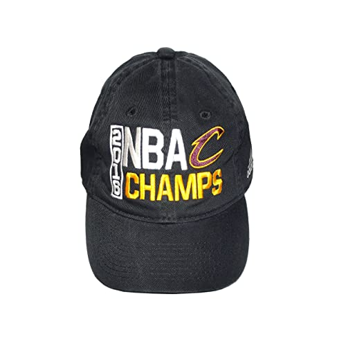 Cleveland Cavaliers Black 2016 NBA Finals Champions Locker Room Champs  Adjustable Dad Hat   Cap 108a56c4c169