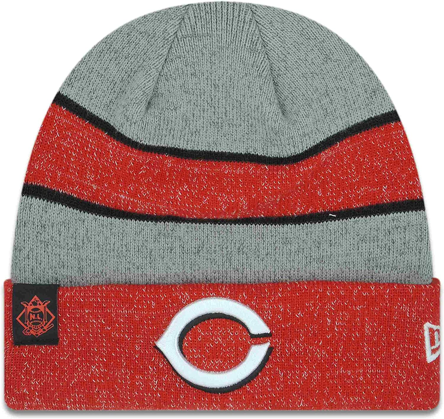 New Free shipping Era Authentic Cincinnati Reds Team Sport Beanie Max 73% OFF O Knit Color