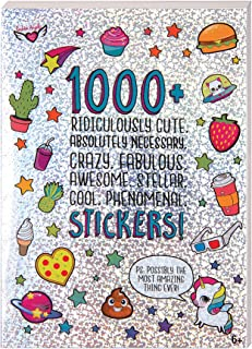 Fashion Angels 1000+ Ridiculously Cute Stickers for Kids - Fun Craft Stickers for Scrapbooks, Planners, Gifts and Rewards,...