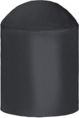 i COVER Round Grill Cover-39(Dia) x41(Tall) Water Proof Heavy Duty Outdoor Canvas BBQ Grill Cover Dome Smoker Cover for Char-