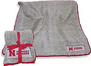 Logo Frosty Fleece 60 X 50 Blanket (Nebraska Cornhuskers - Red,)