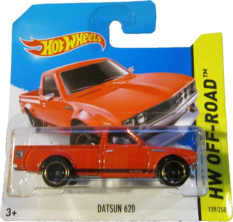 Hot Wheels Short Card HW OffRoad Datsun 620 Red  139 250 by Mattel