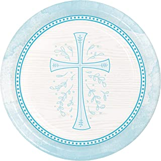 """Creative Converting Divinity Blue Paper Plates, 9"""""""