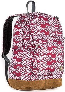 Everest Suede Bottom Pattern Backpack