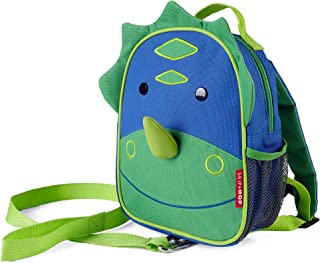 Skip Hop Toddler Leash and Harness Backpack, Zoo Collection, Dinosaur