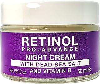 Delfanti Milano • RETINOL PRO-ADVANCE NIGHT CREAM • with dead sea minerals and vitamin B • Made in Italy