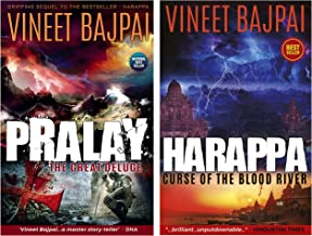 Pralay: The Great Deluge (Harappa) + Harappa - Curse of the Blood River (Set of 2 books)