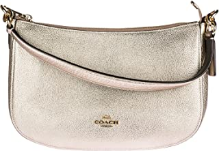 COACH Women's Metallic Leather Chelsea Crossbody