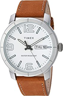 Timex Men's Mod 44 Leather Strap Watch