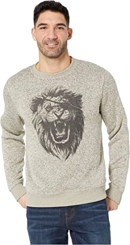 Fleece Monster Crew Neck Sweatshirt