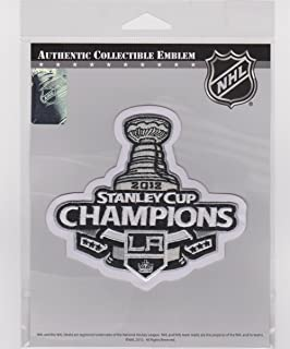 2012 NHL Stanley Cup Final Champions Los Angeles Kings Jersey Patch