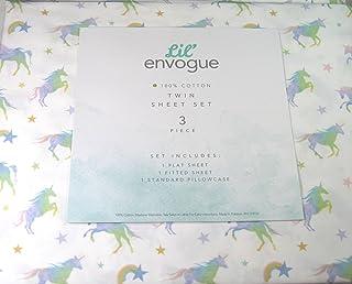 Envogue Kids 4 Pc Full Sheet Set Featuring Paris and Eiffel Tower 100/% Cotton Percale Envogue Fifth Avenue Kids
